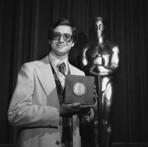 This undated publicity photo provided by the Motion Picture Academy of Arts and Sciences shows Bob Saget at the 1978 (5th) Student Academy Awards ceremony. The latest group of Student Academy Award winners will be celebrated at a ceremony at the Motion Picture Academy of Arts and Sciences in Los Angeles on June 8, 2013. (AP Photos/AMPAS)
