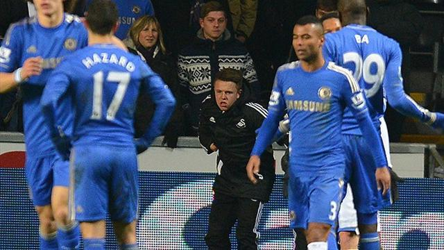 League Cup - FA charges Hazard over ball boy incident