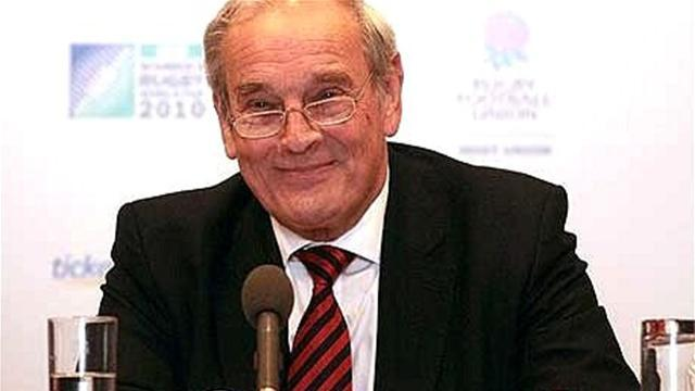 RFU apologises to former chairman Thomas