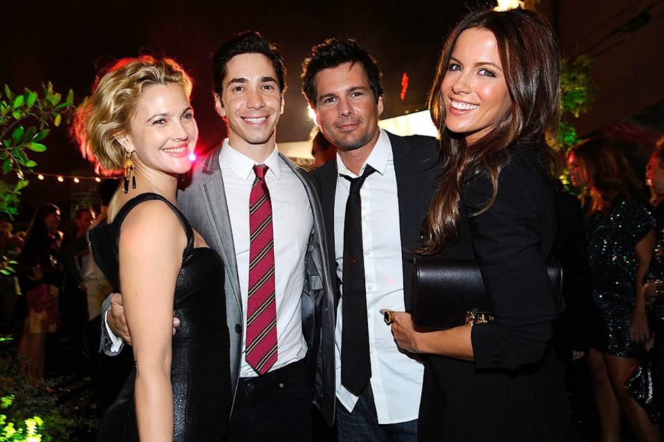 Whip It LA Premiere 2009 Drew Barrymore Justin Long Len Wiseman Kate Beckinsale