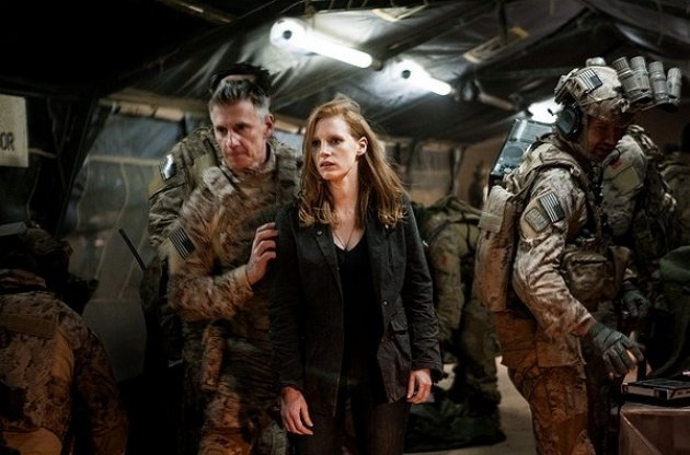 Jessica Chastain in 'Zero Dark Thirty'