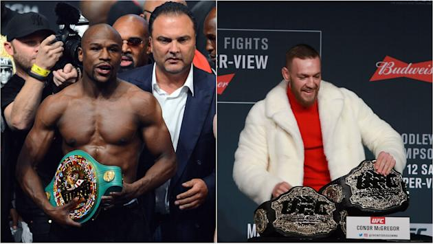 Conor McGregor goes off on Floyd Mayweather in expletive-laced tirade