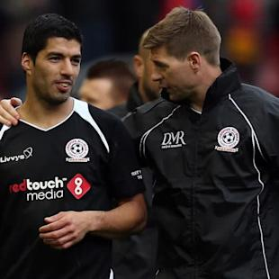 Forgetful Suarez relishes Gerrard match-up