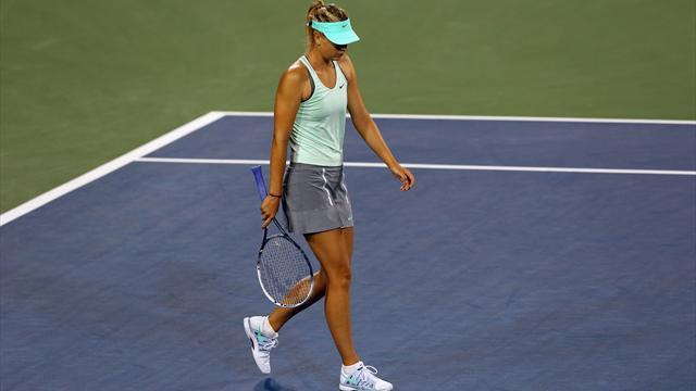 US Open - Sharapova out with shoulder injury