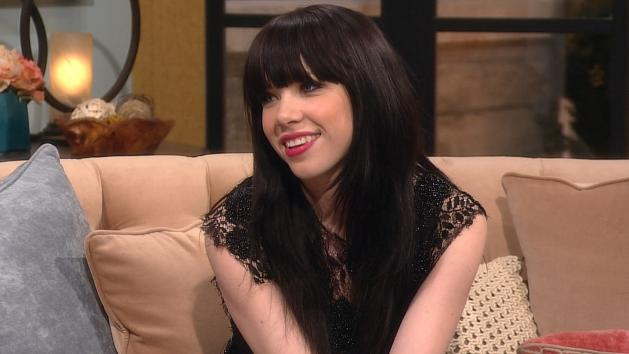 Carly Rae Jepsen visits Access Hollywood Live on February 8, 2013 -- Access Hollywood