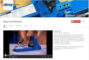 YouTube: Combining Customer Service and Social Media Strategy image Kreg Tool Capture