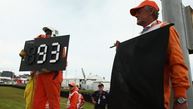 Motorcycling - Honda takes blame for Marquez penalty