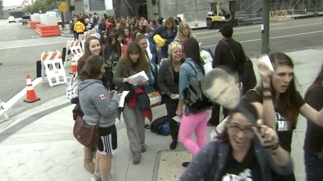 'Twilight' Fans Camping Out for Movie