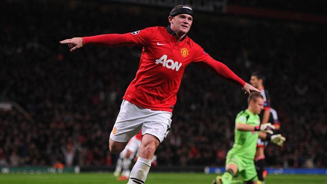 Champions League - Rooney proud of United milestone