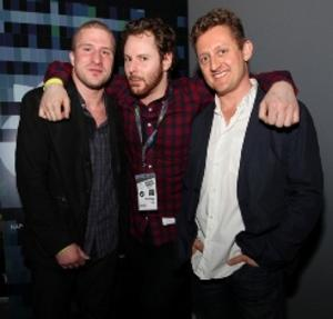 Shawn Fanning, Sean Parker & Alex Winter at SXSW 2012 (photo courtesy of www.platformgrp.com)