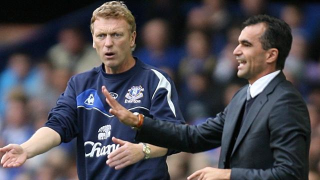 Premier League - Moyes praise for Martinez