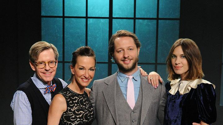 "Publicist James LaForce, fashion designer Cynthia Rowly, best-selling author and fashion editor Derek Blasberg are judges, and model and television personaility Alexa Chung is host on ""24 Hour Catwalk."""