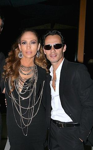 Jennifer Lopez and Marc Anthony during happier times.