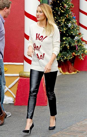 PICTURE: Lauren Conrad Rocks Ugly Holiday Sweater for TV Appearance