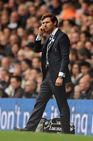 Andre Villas-Boas' side were booed off at White Hart Lane