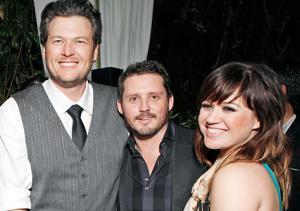 Blake Shelton Takes Credit for Kelly Clarkson's Engagement to Brandon Blackstock