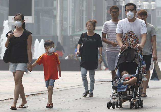 how to protect newborns from haze