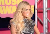 Carrie Underwood arrives at the 2012 CMT Music awards at the Bridgestone Arena in Nashville, Tennessee on June 6, 2012 -- Getty Images