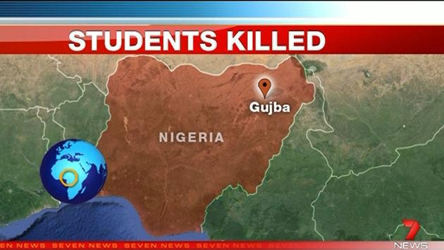 Islamist militants have slaughtered at least 40 students as they sleeping in a college dormitory in Nigeria.