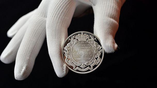First Look at Prince George's Commemorative Coins