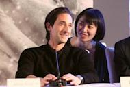 "American actor and film producer Adrien Brody attends a press conference of Feng Xiaogang's epic ""Back to 1942"" movie premiere in Beijing on November 25, 2012. China's latest blockbuster film, to be released nationwide Thursday, focuses on the hypersensitive topic of famine -- but not the mass starvation that Mao Zedong presided over, which remains strictly taboo"