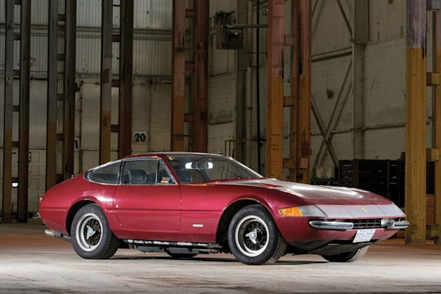 photo of 1971 ferrari daytona condo find