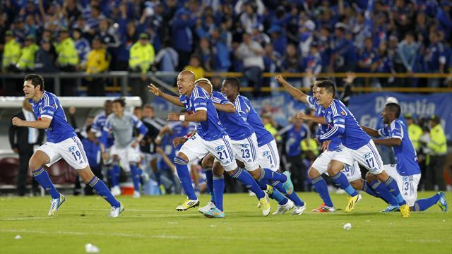 World Football - Millonarios and Libertad seal titles in South America