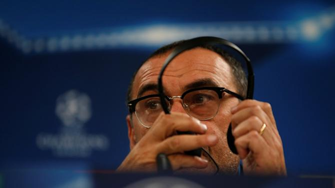 Football Soccer - Napoli news conference - UEFA Champions League