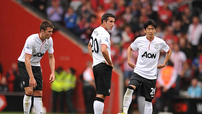Robin van Persie and Shinji Kagawa are expected to start for Manchester United against Galatasaray