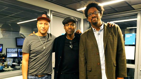 Tom Morello, Chris Rock,  W. Kamau Bell