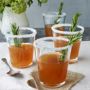 Rosemary-Infused Honey Sidecars
