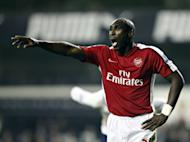 Former England defender Sol Campbell, pictured in 2010, announced his retirement from football on Wednesday
