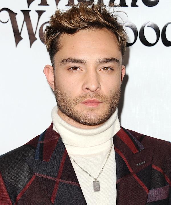 Ed Westwick Was Basically Chuck Bass as a Groomsman in His Pal's Wedding