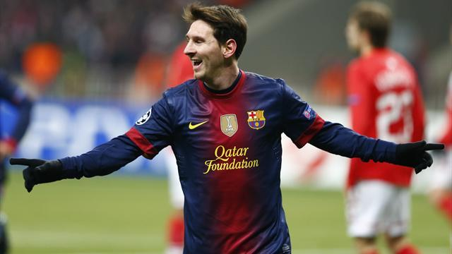 Champions League - Barcelona ensure progress with win in Moscow