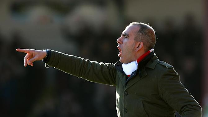 Paolo di Canio led Swindon to the League Two title last season