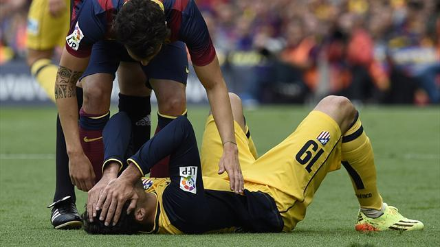 Champions League - Atletico's Costa set to miss Lisbon final, could also miss World Cup
