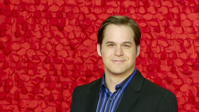 """Kyle Bornheimer star as Perry Gill in """"Romantically Challenged."""""""
