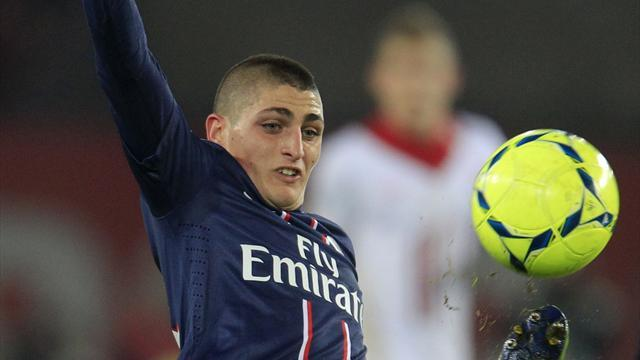 Ligue 1 - Verratti: PSG 'without doubt' bigger than Juventus