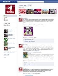 Zynga on Facebook: https://www.facebook.com/Zynga?ref=ts