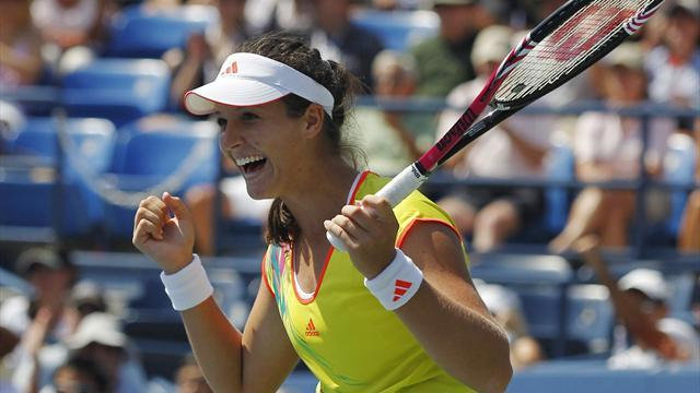 Robson shocks Li to reach US Open fourth round