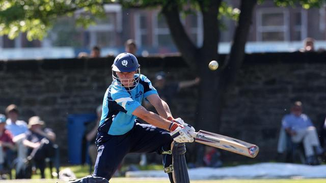 Cricket - Scotland beaten by Afghanistan in ODI