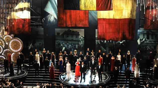 Les Miserables Oscars 2013