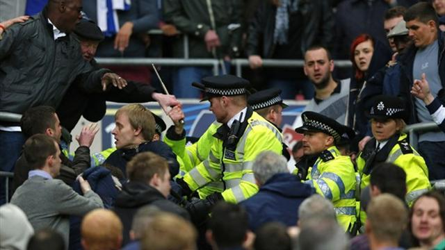 FA Cup - Two charged over FA Cup semi-final disorder