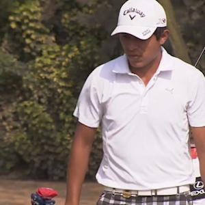 Augusto Nunez fires second-straight 64 to lead the Lexus Peru Open