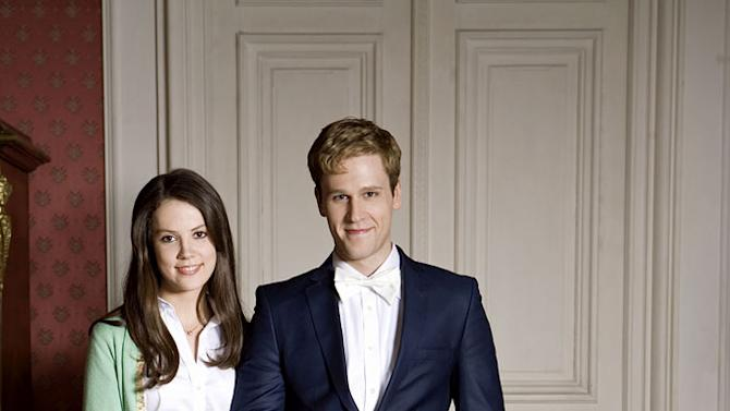 """Alice St. Clair stars as Catherine Middleton and Dan Amboyer stars as HRH Prince William in """"William & Catherine: A Royal Romance."""""""