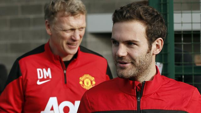 Premier League - Time for Moyes to forget 4-4-2 and accommodate Mata