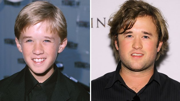 Male Child Actors Then And Now Joel osment, then and now