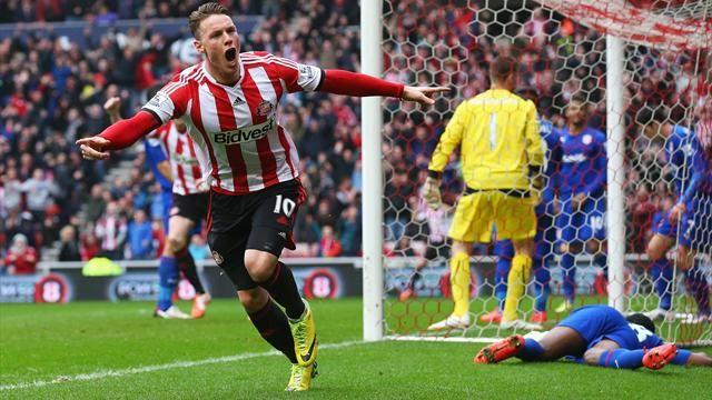 Premier League - Poyet challenges goalscorer Wickham