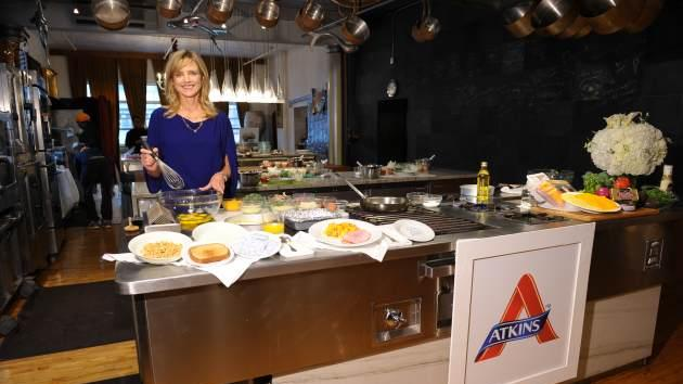 Courtney Thorne-Smith is a big supporter of the Atkins diet --