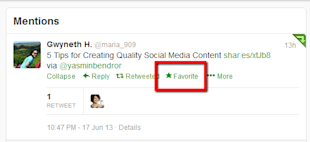 Understanding Twitter: Best Ways to Tweet image Twitter Favorites Feed 2